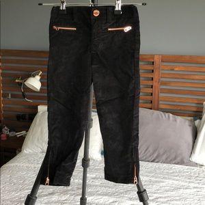 Baker by Ted Baker, velvet skinny pants, size 4Y